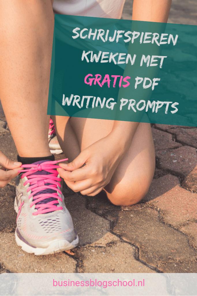 Schrijfspieren kweken met writing prompts
